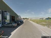 Aanvraag omgevingsvergunning, het realiseren van een CNG container, Sint-Maartensdijk