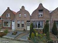 Aanvraag omgevingsvergunning, het wijzigen van de zijgevel, Poortvliet