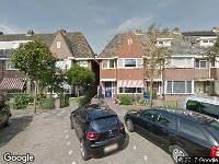 Brandweer naar Rembrandtstraat in Alkmaar
