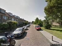 Ambulance naar Herman van den Berghstraat in Haarlem