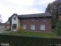 Brandweer naar Van Rijckevorsellaan in Moergestel