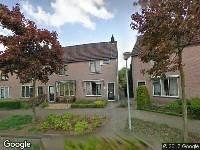 Ambulance naar Wilhelminastraat in Doesburg