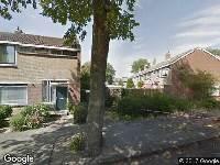 Ambulance naar Aletta Jacobsstraat in Haarlem