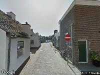 Brandweer naar Baljuwstraat in Katwijk