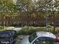 Brandweer naar Waddenstraat in Haarlem