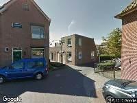 Ambulance naar Kerkplein in Meerkerk