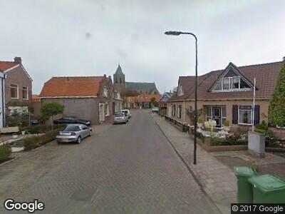 Ambulance naar Smidsstraat in Poortvliet