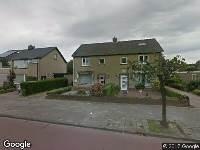 Ambulance naar Abdis van Thornstraat in Oosterhout