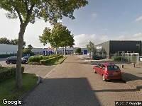 Brandweer naar Voltastraat in Zwolle