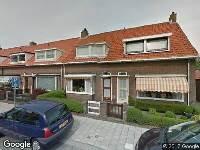 Ambulance naar Meidoornstraat in Katwijk