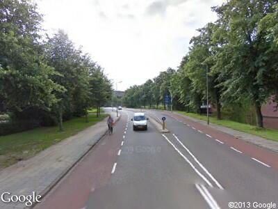 Politie naar Wipstrikkerallee in Zwolle