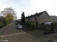 Ambulance naar Weberstraat in Dongen