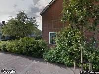 Brandweer naar Lijsterbeslaan in Groningen