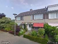 Ambulance naar Brahmslaan in Helmond