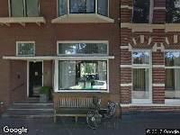Politie naar Wilhelminasingel in Zwolle