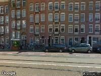 Ambulance naar Ruyschstraat in Amsterdam