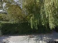 Valkenburgseweg Katwijk, het kappen van een boom aan de zijkant van de woning