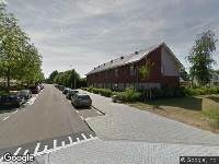 Afgehandelde omgevingsvergunning, het kappen van 22 bomen,   Orinocodreef te Utrecht, HZ_WABO-17-28330