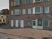 Aanvraag omgevingsvergunning, plaatsen van een kozijn met dubbele deuren, Kanaalkade 2, Alkmaar