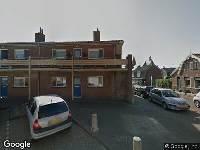 Gehandicaptenparkeerplaats, aan de 3e Oosterberg 1 te Egmond aan Zee, plaatsen bord gehandicaptenparkeerplaats