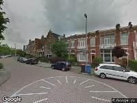 Ingekomen kapmelding Vredeman de Vriesstraat t.h.v. nr. 1 te Leeuwarden, (11029088), kappen van 1 Crataegus monogyna Stricta