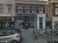 ODRA Gemeente Arnhem - Aanvraag omgevingsvergunning buiten behandeling, bedrijfsnaam op de gevel van de winkel, Steenstraat 52 A