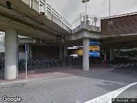Gemeente Utrecht - Vaststellen: Gebod voor alle bestuurders het bord voorbij te gaan aan de zijde die de pijl aangeeft (D2) - Heidelberglaan (ter hoogte van de tram/bushalte UMC)
