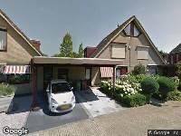 Aanvraag omgevingsvergunning, het plaatsen van een overkapping en een berging, Johan Marijnenboog 32 4827HH Breda