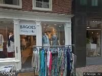 Aanvraag omgevingsvergunning, aanpassen van een gevelkozijn, Boterstraat 28, Alkmaar