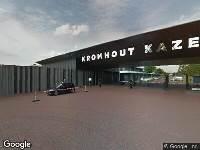 Gemeente Utrecht - Vaststellen: Voorrangskruispunt met haaientanden (B6): verleen voorrang aan bestuurders op de kruisende weg - Laan van Maarschalkerweerd  (ter hoogte van het kruispunt met de Weg to
