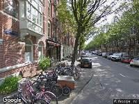 Aanvraag omgevingsvergunning Eerste Constantijn Huygensstraat 14 A