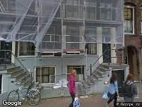 Bekendmaking Gemeente Amsterdam - Prinsengracht 522 opheffen gehandicaptenparkeerplaats - Prinsengracht 522