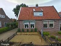 Bekendmaking Ingetrokken aanvraag omgevingsvergunning, Scharnegoutum, P A Glastra van Loonstr 13het uitbreiden van de woning in strijd met het bestemmingsplan