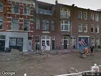 Haarlem, ingekomen aanvraag omgevingsvergunning Haarlem, Kinderhuisvest 51-51, Zonnescherm verhangen, naar nr. 51 waardoor steen ingang Zijlpoort daarboven komt, 2 augustus 2018