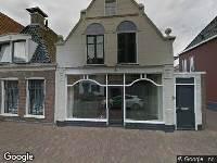 Aanvraag omgevingsvergunning, plaatsen van zonnepanelen op het zijdakvlak, Waagstraat 9, Franeker