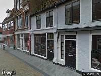 Verleende ontheffing voor het plaatsen van een terras,  1 april tot 1 oktober, perceel Dijkstraat 33, Franeker