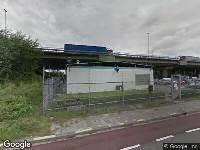 Verleende vergunning voor het aanleggen van een waterleiding, Veilingweg in Rotterdam