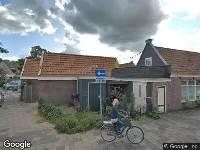 Bekendmaking Verlengen beslistermijn omgevingsvergunning met zes weken, bouwen van een berging, naast berging Nieuwlandersingel 1, Alkmaar