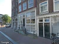 Verlenging beslistermijn omgevingsvergunning openbare ruimte ter hoogte van Prinsengracht 106
