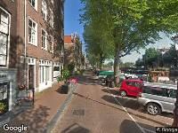 Gemeente Amsterdam - Oude Waal 26 aanleg gehandicaptenparkeerplaats - Oude Waal 26