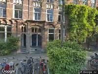 Aanvraag omgevingsvergunning Eerste Helmersstraat 129 H