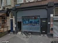 verleende standplaatsverg Nieuwe Binnenweg hoek Van Speykstraat t.h.v. nr.127