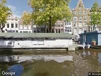 Bekendmaking Aanvraag omgevingsvergunning kap Prinsengracht 1115