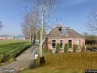 Kennisgeving ontvangst aanvraag voor het bouwen van een garage Peebos 55 in Doezum
