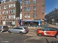 Bekendmaking Aanvraag omgevingsvergunning Van Hallstraat 37 H