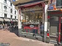 Bekendmaking Aanvraag omgevingsvergunning Utrechtsestraat 93