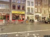 Besluit omgevingsvergunning buiten behandeling gesteld Haarlemmerstraat 99B