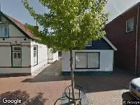 Bekendmaking Kennisgeving ontvangst aanvraag voor het plaatsen van gevelreclame, Hoofdstraat 133 in Grootegast