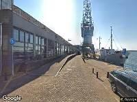 Gemeente Amsterdam - Wijzgen keteken gehandicaptenparkeerplaats Surinamekade te Amsterdam-Oost - Surinamekade te Amsterdam-Oost