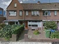 Verleende omgevingsvergunning, vergroten van een woning, Vermeerstraat 50, Alkmaar
